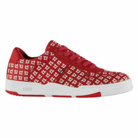 Tommy Hilfiger Hilfiger Varsity Print Basketball Inspired Trainers