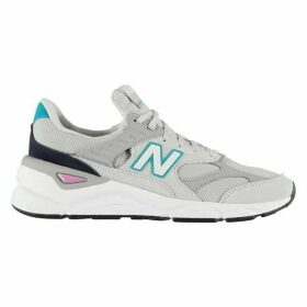 New Balance X-90 Leather and Mesh Trainers
