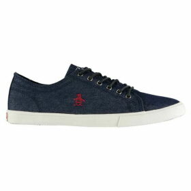 Original Penguin Brewton Canvas Trainers