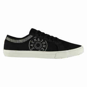Jack and Jones Ross Canvas Print Mens Trainers