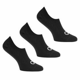 Calvin Klein 3 Pack Trainer Liner Socks