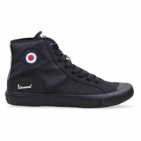 Vespa Brighton Hi Top Trainers