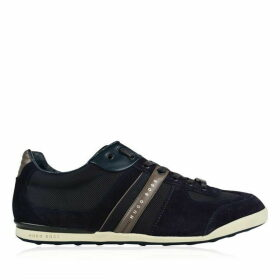 BOSS Akeen Contrast Panel Trainers