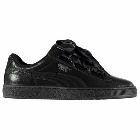 Puma Heart Basket Trainers