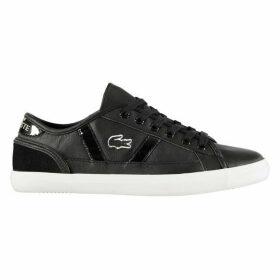Lacoste Sideline Leather Trainers