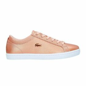 Lacoste Straightset Chantaco Leather Trainers