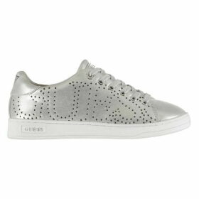 Guess Carter Womens Leather Trainers