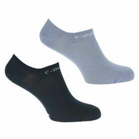 Calvin Klein Underwear Calvin Coolmax 2 Pack Trainer Socks Ladies
