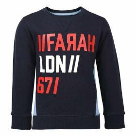 Farah Vintage Terry Crew Sweatshirt