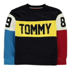 Tommy Hilfiger Multi Colour Crew Sweatshirt