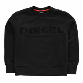 Diesel Screv Crew Logo Sweater