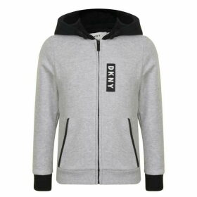 DKNY Badge Hooded Sweatshirt