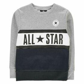 Converse Panel Crew Sweatshirt