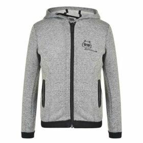 Karl Lagerfeld Choupette Zip Sweatshirt