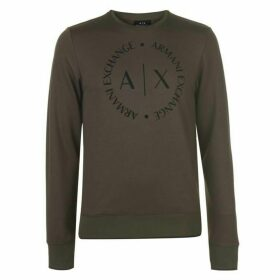 Armani Exchange Armani Logo Crew Sweater