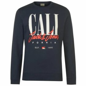 Jack and Jones Original Art Sign Crew Sweater