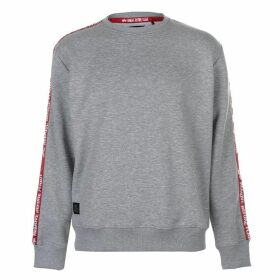 Alpha Industries Remove Before Flight Tape Sweater