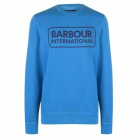Barbour International Mens Knitted Crew Sweater