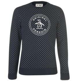 Original Penguin Original Stamp Logo Sweater