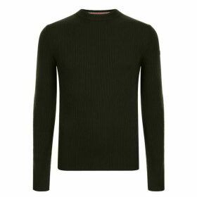 HUGO Slogen Knitted Slim Fit Jumper
