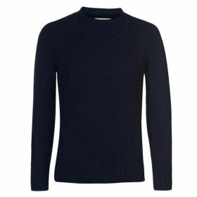 Criminal Skagen Cable Knit Jumper Mens