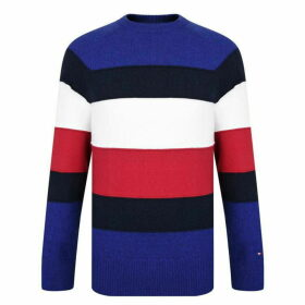 Tommy Hilfiger Striped Long Sleeved Jumper
