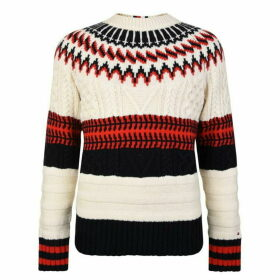 Tommy Hilfiger Fairisle Knitted Jumper