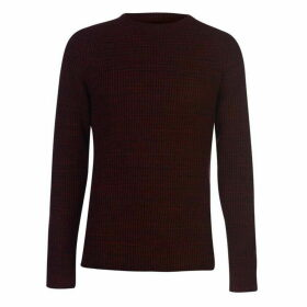 Criminal Larvik Text Knitted Jumper Mens