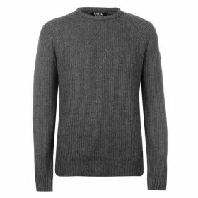 Firetrap Blackseal Ribbed Jumper