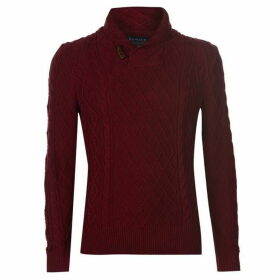 Howick Lester Cable Jumper Mens