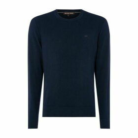 MICHAEL Michael Kors MK Cotton Emb Jumper Sn92