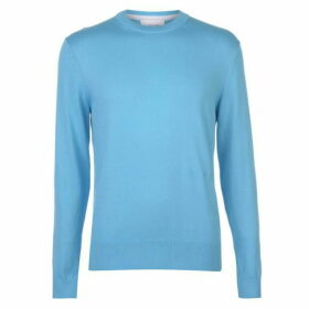 Calvin Klein Tailoring Calvin Cotton Embroidered Logo Jumper Mens