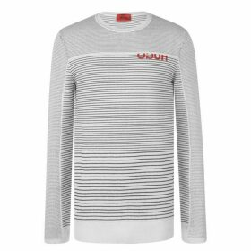 Hugo Logo Jumper Mens