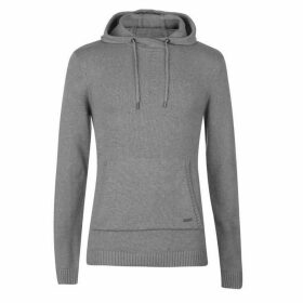 Firetrap Hooded Knit Jumper Mens