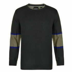 DKNY Panel Knit Jumper