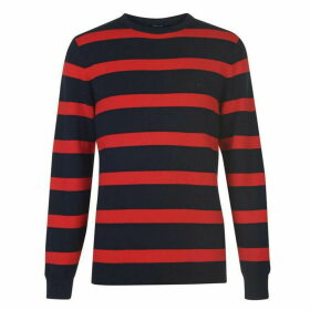 Gant Block Stripe Jumper Mens