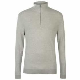 Jack and Jones Jack Knitted Turtle Neck Sweater Mens