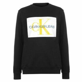 Calvin Klein Mens Monogram Sweater