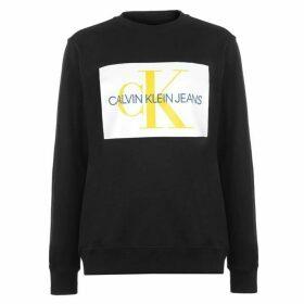 Calvin Klein Mens Monogram Sweater