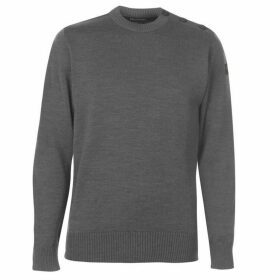 Paul And Shark Crew Button Knitted Jumper