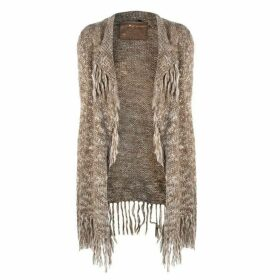 MARC AUREL Marc Fringed Cardigan