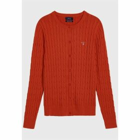 Gant Cable Knit Cardigan
