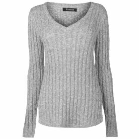 Firetrap Cable Knit Jumper Ladies