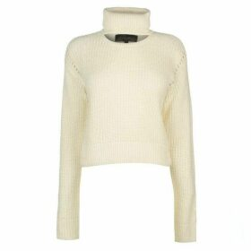 Kendall and Kylie Open Neck Crew Jumper