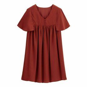 Ruffled Babydoll Dress