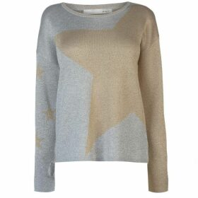 Oui Star Jumper Ladies
