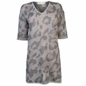 Oui Womens Leopard Jumper