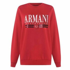 Armani Exchange Armani Logo Jumper Ladies