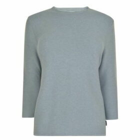 BARBOUR INTERNATIONAL Cross Back Crew Neck Jumper