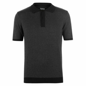 Firetrap Blackseal Knit Polo